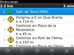 Uso de la navegación GPS - BlackBerry Bold 9720 - Passo 16