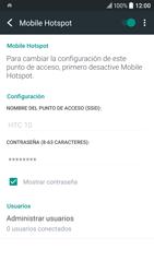 Configura el hotspot móvil - HTC 10 - Passo 16