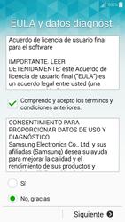 Activa el equipo - Samsung Galaxy A5 - A500M - Passo 8