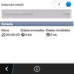 Comparte la conexión de datos con una PC - BlackBerry Q5 - Passo 13