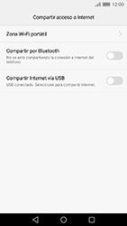 Comparte la conexión de datos con una PC - Huawei Cam Y6 II - Passo 6