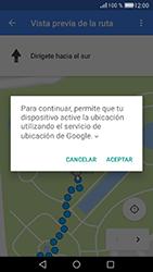 Uso de la navegación GPS - Huawei Cam Y6 II - Passo 21
