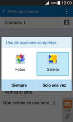 Envía fotos, videos y audio por mensaje de texto - Samsung Galaxy Core Prime - G360 - Passo 15