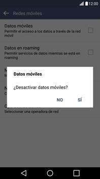 Desactiva tu conexión de datos - LG G4 - Passo 6