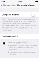 Configura el hotspot móvil - Apple iPhone 4s - Passo 5