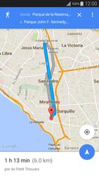 Uso de la navegación GPS - Samsung Galaxy A3 - A300M - Passo 16