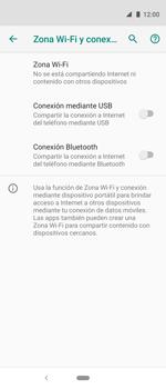 Comparte la conexión de datos con una PC - Motorola One Vision (Single SIM) - Passo 7