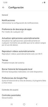 Cambiar configuración de actualizaciones de aplicaciones - Samsung Galaxy S10 Lite - Passo 5