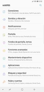 Desinstalar aplicaciones - Samsung Galaxy Note 8 - Passo 3