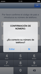 Configuración de Whatsapp - Apple iPhone 5c - Passo 7