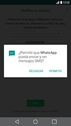 Configuración de Whatsapp - LG X Cam - Passo 11