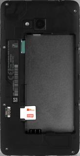 Cómo insertar la SIM card - Microsoft Lumia 640 - Passo 4