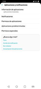 Limpieza de aplicación - LG G7 Fit - Passo 4