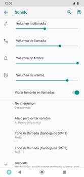 Cómo activar el modo de vibración o silencio - Motorola Moto G8 Play (Single SIM) - Passo 5