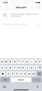 Configuración de Whatsapp - Apple iPhone X - Passo 13