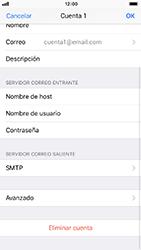 Configura tu correo electrónico - Apple iPhone 8 - Passo 25