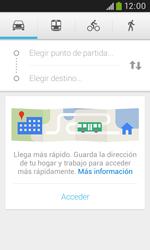Uso de la navegación GPS - Samsung Galaxy Trend Plus S7580 - Passo 7