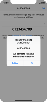 Configuración de Whatsapp - Apple iPhone XS - Passo 9