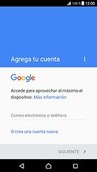 Crea una cuenta - Sony Xperia XZ Premium - Passo 3