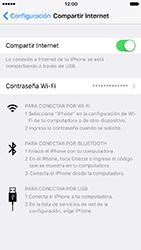 Configura el hotspot móvil - Apple iPhone 7 - Passo 8