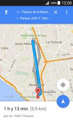 Uso de la navegación GPS - Samsung Galaxy Core Prime - G360 - Passo 19