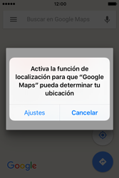 Uso de la navegación GPS - Apple iPhone 4s - Passo 6