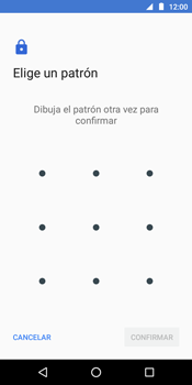 Desbloqueo del equipo por medio del patrón - Motorola Moto E5 - Passo 10