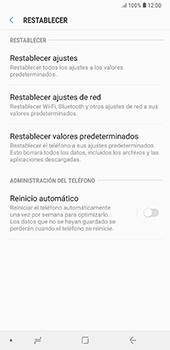 Restaura la configuración de fábrica - Samsung A7 2018 - Passo 6