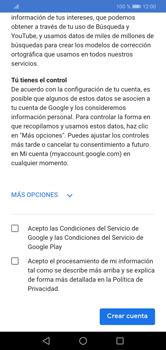 Crea una cuenta - Huawei Y7 2019 - Passo 13