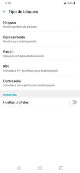 Cómo cambiar el código de bloqueo de pantalla de tu teléfono - LG K40S - Passo 7