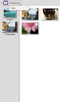 Transferir fotos vía Bluetooth - Samsung Galaxy Tab 3 7.0 - Passo 8