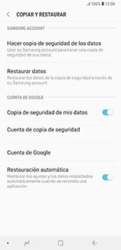 Realiza una copia de seguridad con tu cuenta - Samsung A7 2018 - Passo 7