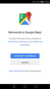 Uso de la navegación GPS - Huawei Mate S - Passo 4