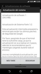 Actualiza el software del equipo - HTC Desire 626s - Passo 8