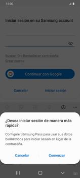 Cómo habilitar Carpeta Segura - Samsung Galaxy S20 - Passo 9