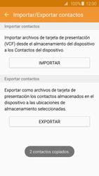 ¿Tu equipo puede copiar contactos a la SIM card? - Samsung Galaxy S6 - G920 - Passo 13