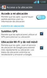 Uso de la navegación GPS - LG Optimus L 7 II - Passo 8