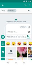 Envía fotos, videos y audio por mensaje de texto - Motorola Moto E5 Play - Passo 10