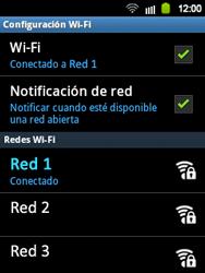 Configura el WiFi - Samsung Galaxy Y  GT - S5360 - Passo 9