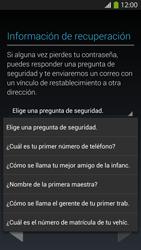 Crea una cuenta - Samsung Galaxy S4  GT - I9500 - Passo 12