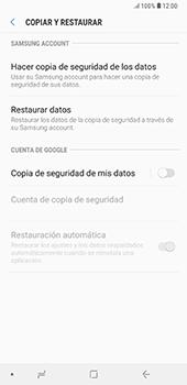 Realiza una copia de seguridad con tu cuenta - Samsung A7 2018 - Passo 6
