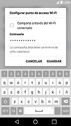Configura el hotspot móvil - LG X Power - Passo 7