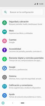 Restaura la configuración de fábrica - Motorola One Vision (Single SIM) - Passo 4