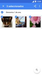 Transferir fotos vía Bluetooth - Motorola Moto C - Passo 8