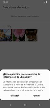 Envía fotos, videos y audio por mensaje de texto - Samsung Galaxy A50 - Passo 17