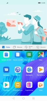 Cómo ver dos aplicaciones a la vez en pantalla - Huawei Nova 5T - Passo 4