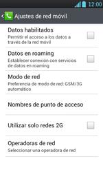 Configura el Internet - LG Optimus L7 - Passo 6