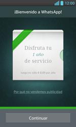 Configuración de Whatsapp - LG Optimus L5 II - Passo 9