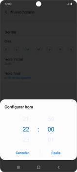 Cómo configurar el modo no molestar - Samsung Galaxy S10 Lite - Passo 9