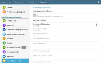 Actualiza el software del equipo - Samsung Galaxy Note Pro - Passo 7